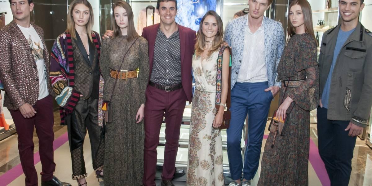 Saks Fifth Avenue Santa FE inaugura boutique de la firma italiana Etro