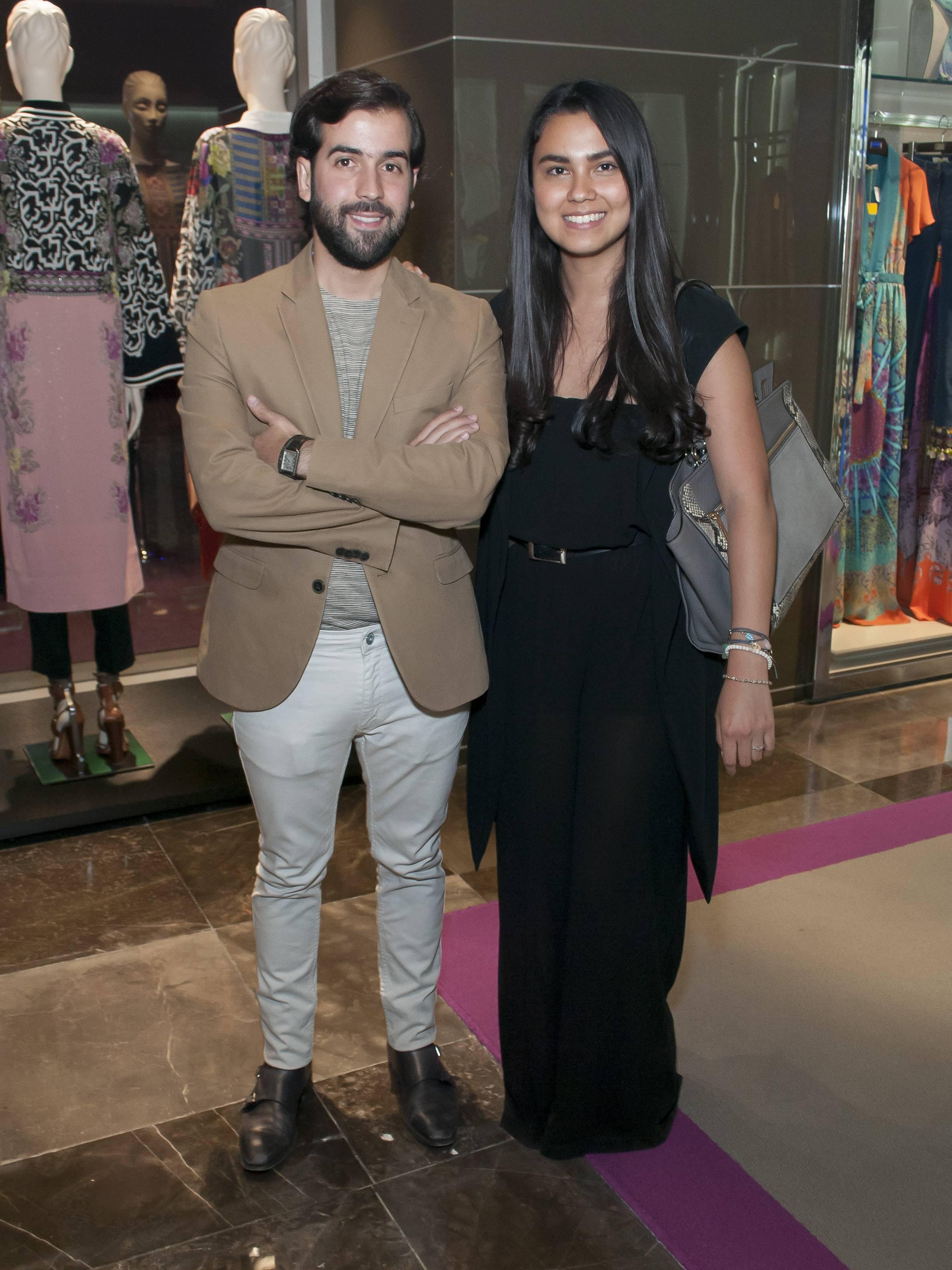 Fernando Fernández y Georgina Hernández JDS