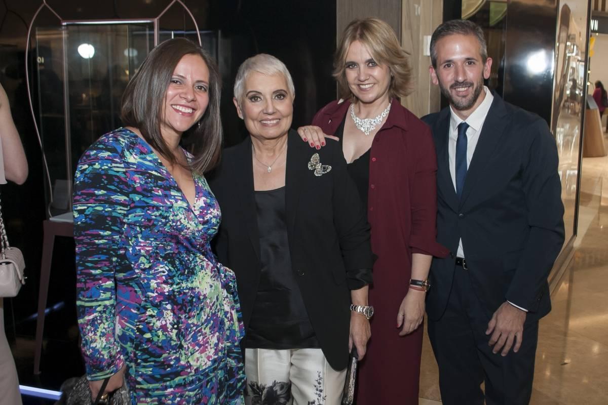 Selene Ruíz de Pesci, Rosa Oriol,Rosa Tous y Fernando Pesci JDS