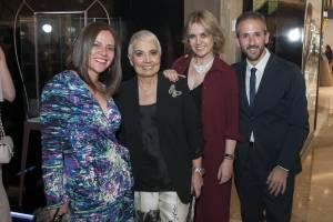 Selene Ruíz de Pesci, Rosa Oriol,Rosa Tous y Fernando Pesci