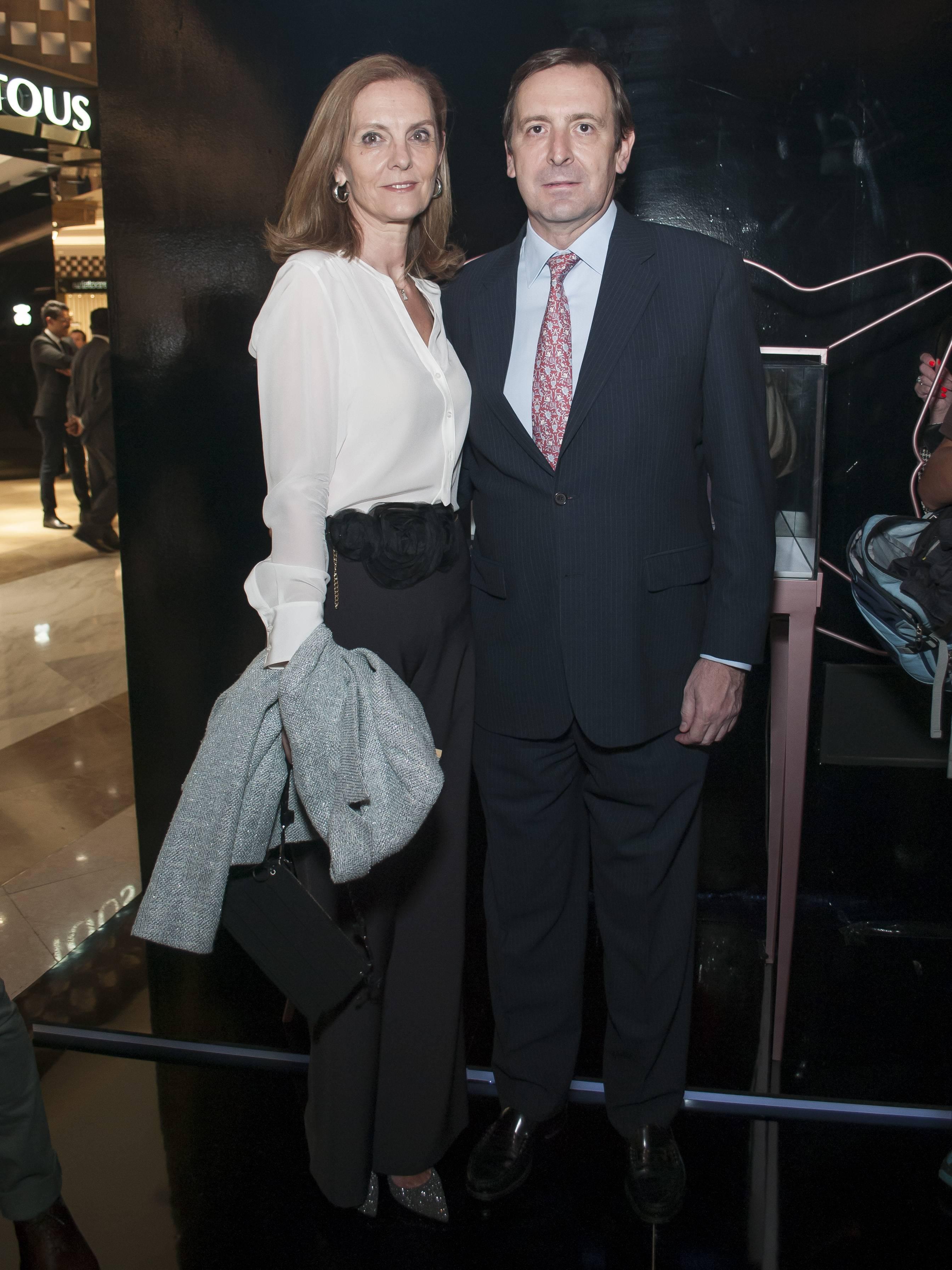 Ana López Ocaña y Luis Fernández JDS
