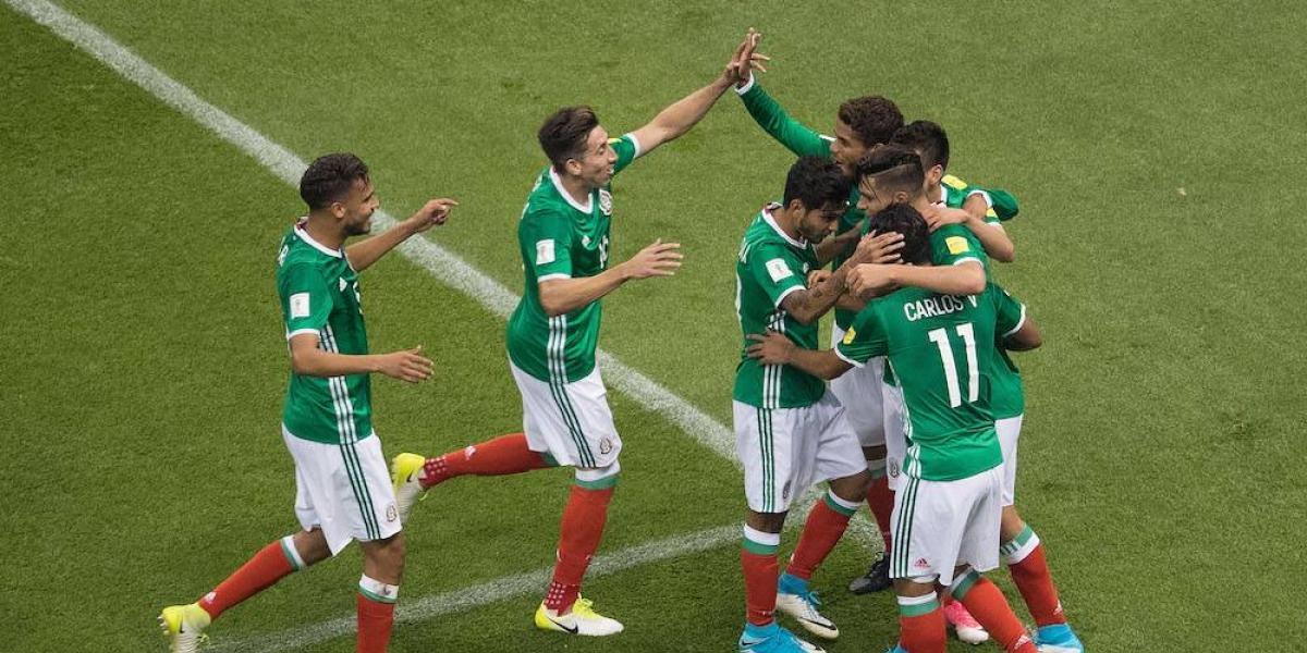 El Tricolor se acerca otro paso a Rusia 2018