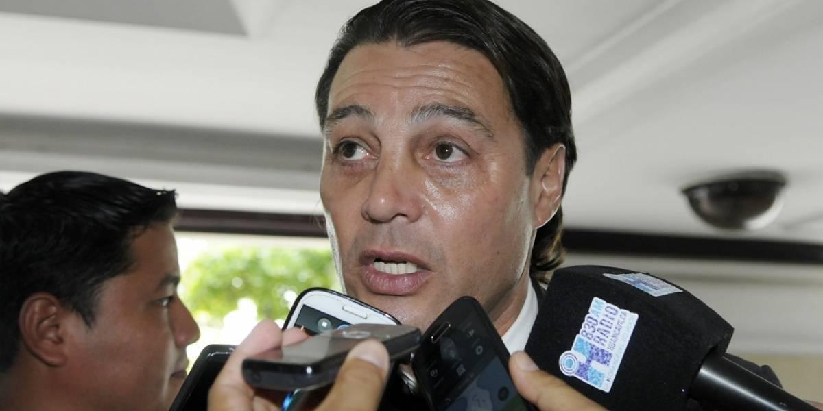 Alfaro Moreno se disculpó con Guayaquil City