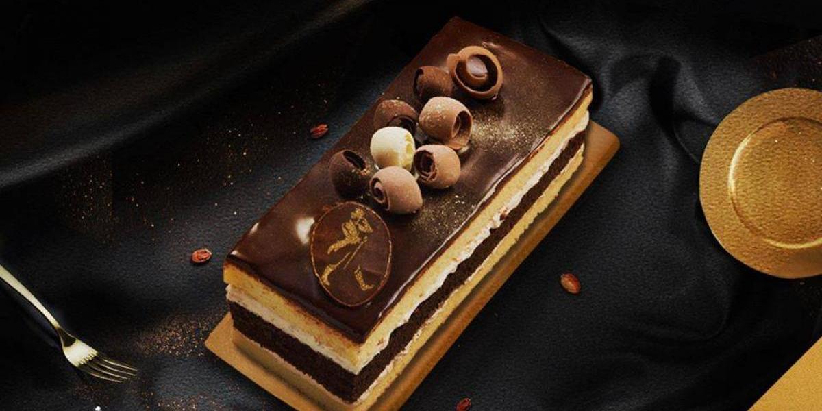 Gold Label es un pastel de vainilla, chocolate, macadamia y un toque de Johnnie Walker