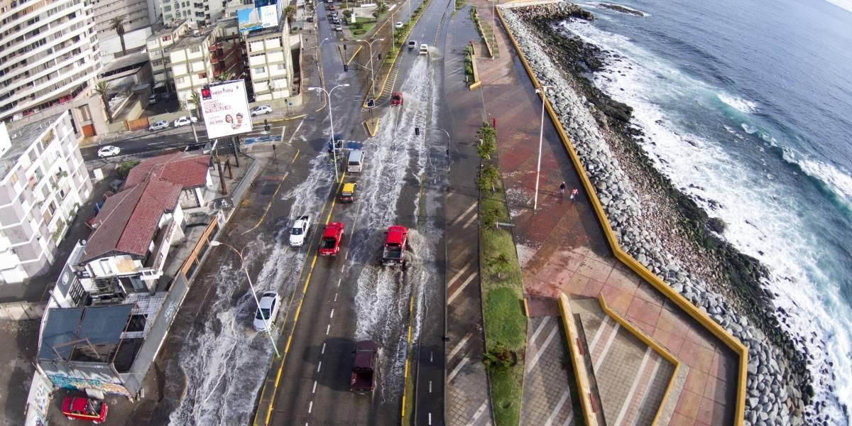Comienza catastro de damnificados por sistema frontal en Región de Antofagasta