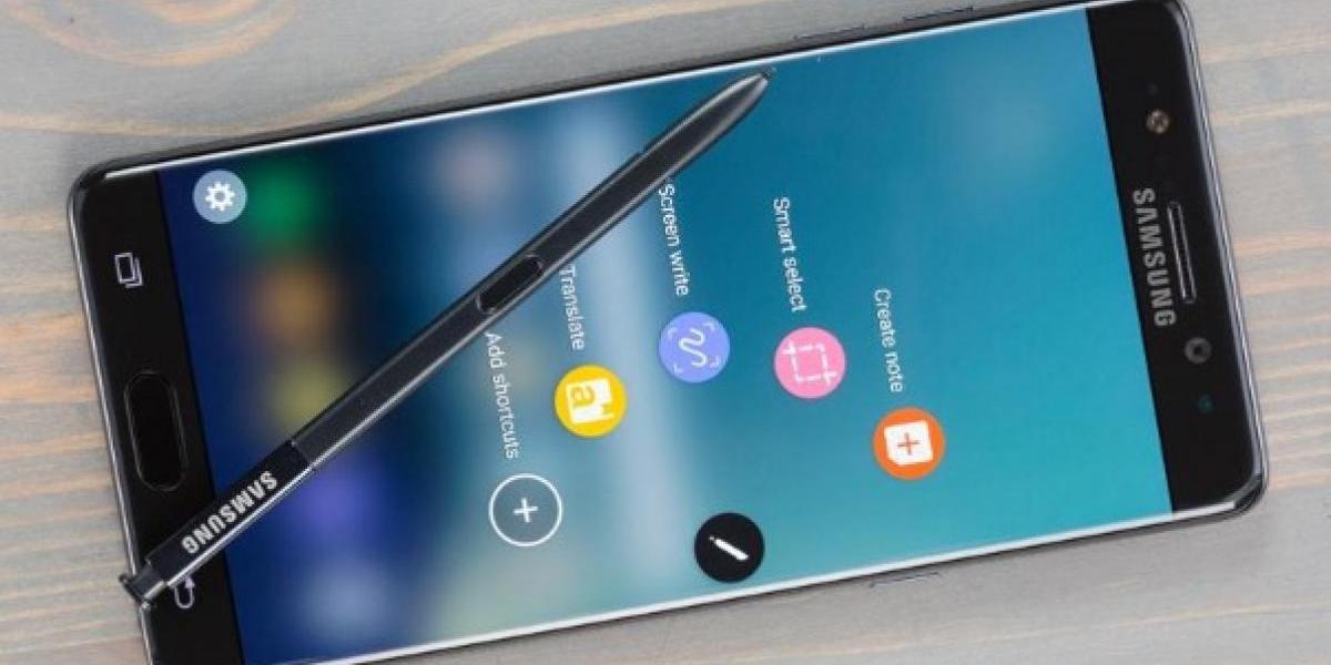 Filtran fotos de lo que podría ser el nuevo Samsung Galaxy Note 8