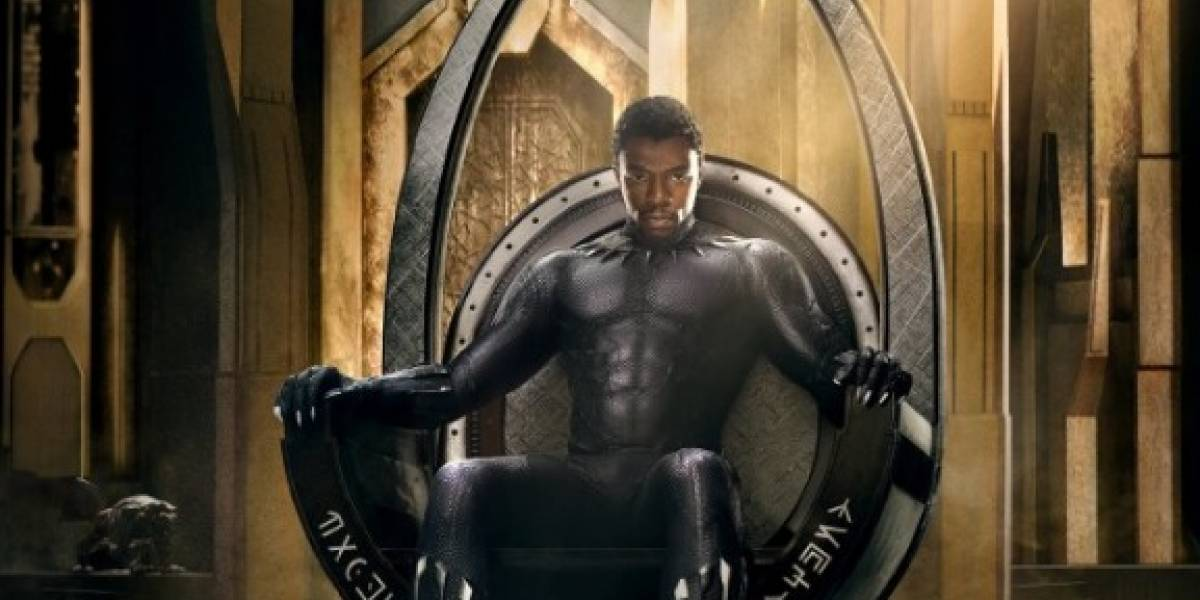 Marvel revela primer póster oficial de Black Panther