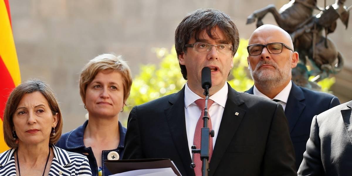 Líder catalão diz que Espanha promoveu um golpe de estado e pede ajuda da UE
