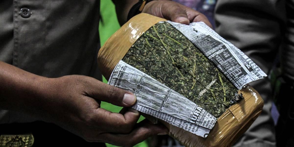 Pareja de chilenos cruzaron el continente para comprar marihuana en Colombia