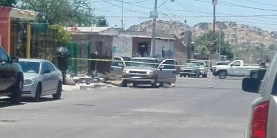 Repelen agresión agentes de la AMIC y abaten a 5 delincuentes