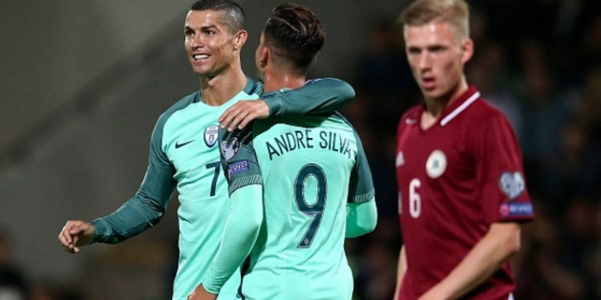 VIDEO: Cristiano y Portugal dieron cátedra ante Letonia