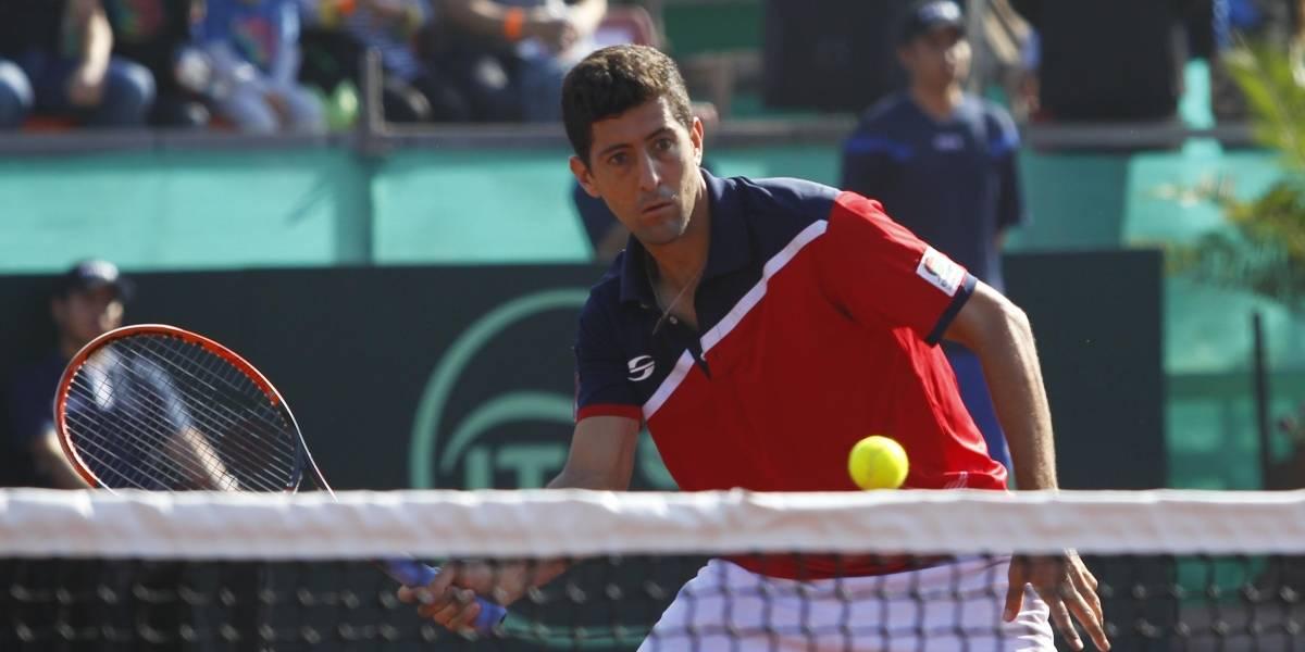 Hans Podlipnik cayó en la final de dobles del Challenger de Prostejov
