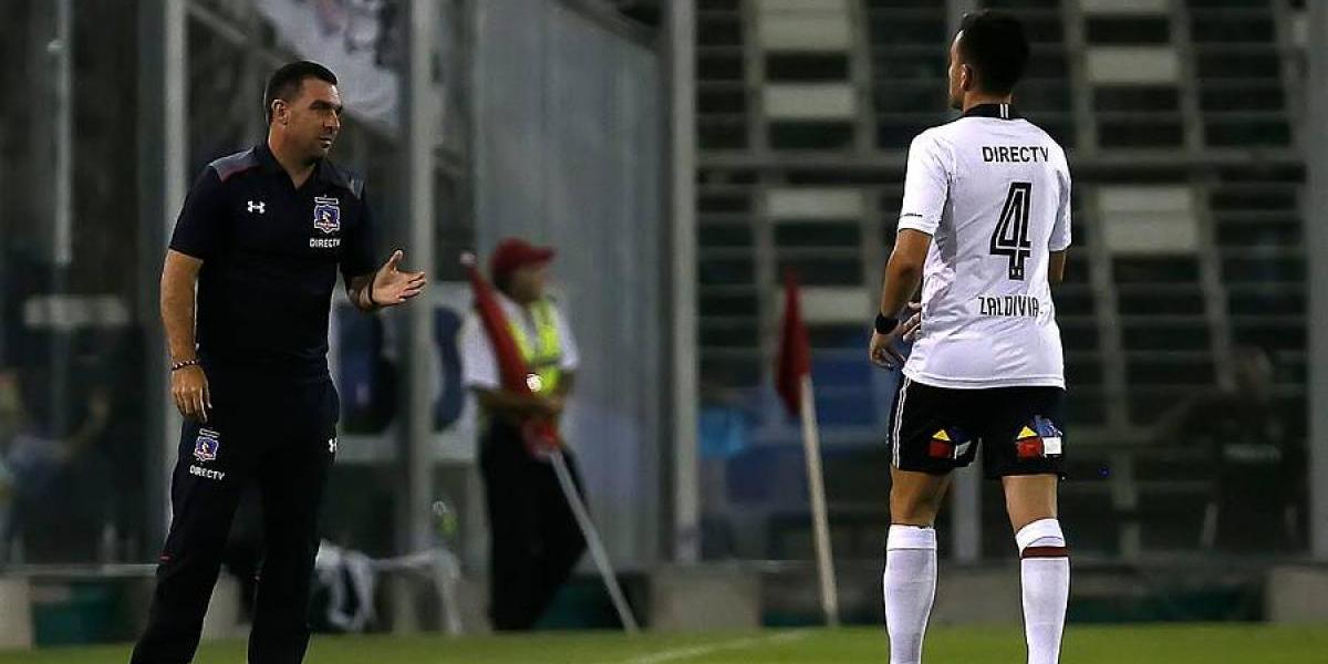 Matías Zaldivia volvió antes de sus vacaciones y ya entrena para reaparecer en Colo Colo