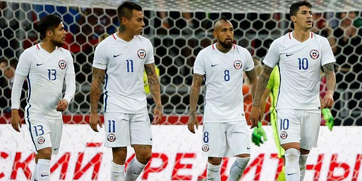 Uno a uno de Chile: Isla, Vidal y Alexis brillaron en un equipo muy opaco en Moscú