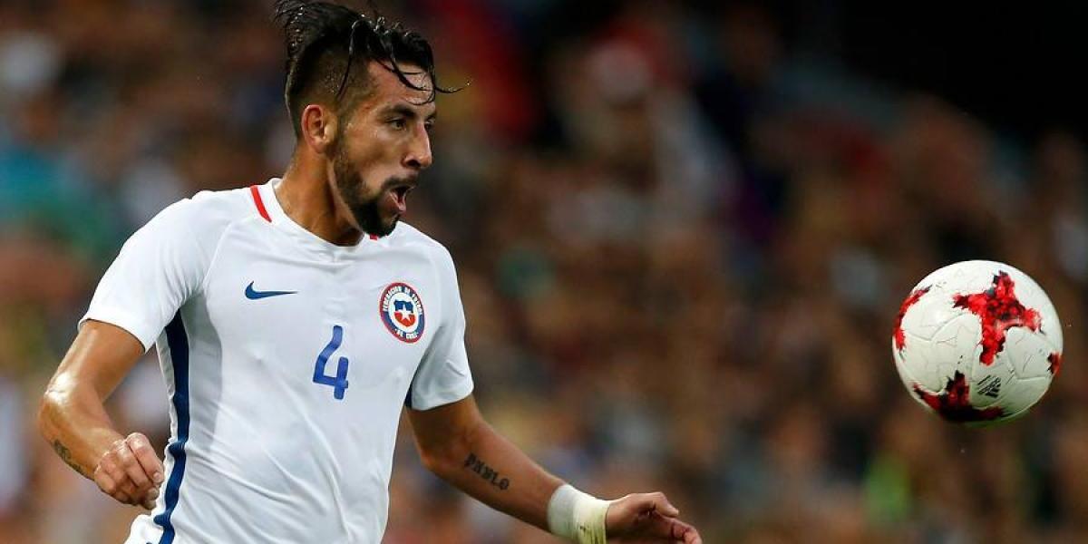 Isla volvió al gol en la Roja dos años después del histórico triunfo contra Uruguay