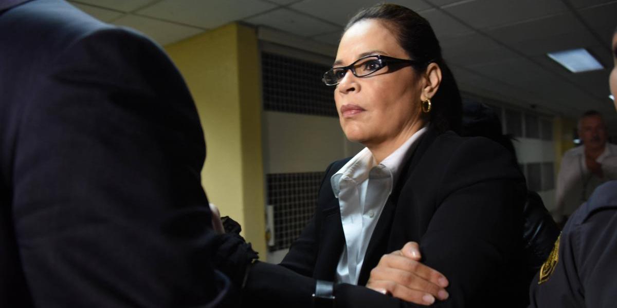 Tribunal programa audiencia para informar a Baldetti sobre solicitud de extradición