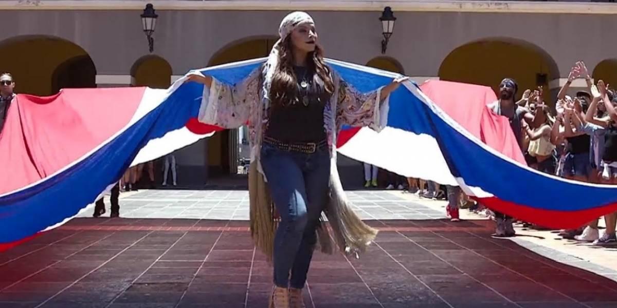 Olga Tañón estrena video de La gran fiesta