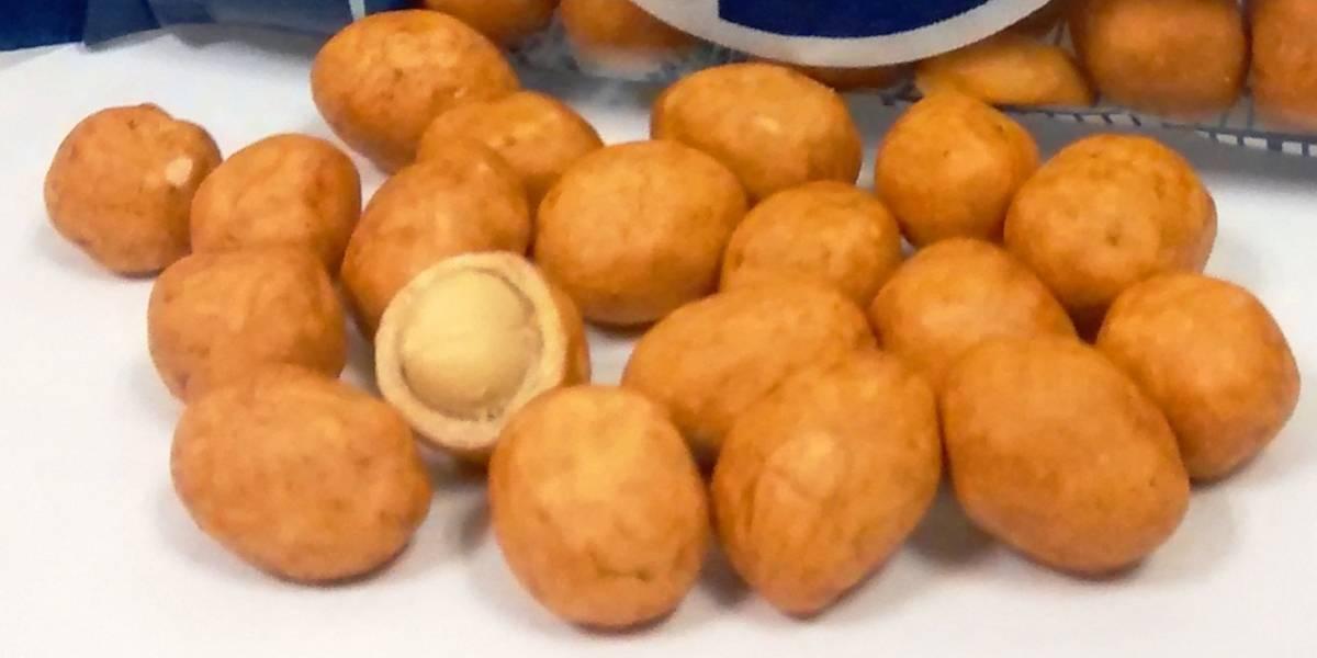 ¿Qué es lo que cubre a los cacahuates japoneses?