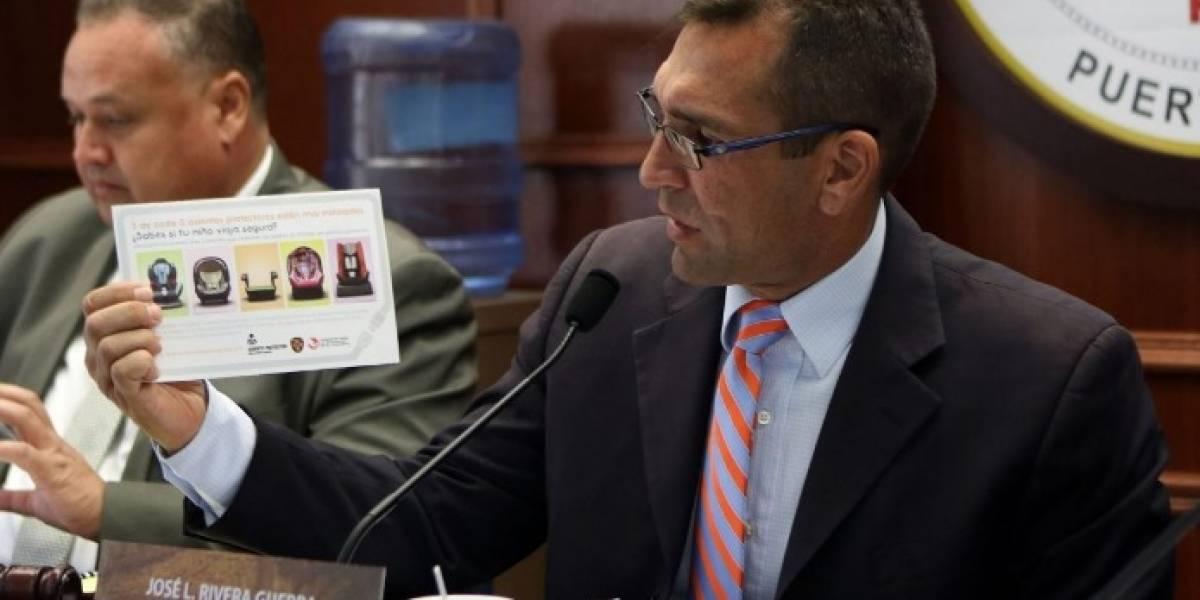 Presentan querella contra representante Rivera Guerra en la Comisión de Ética