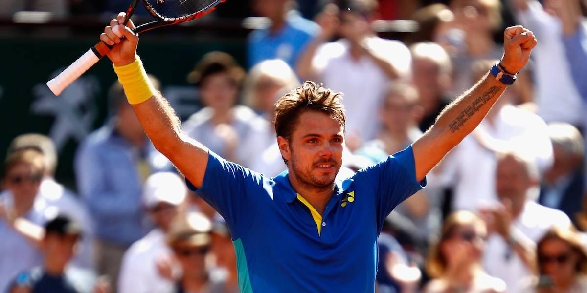 Stan Wawrinka vence a Murray y avanza a la final de Roland Garros