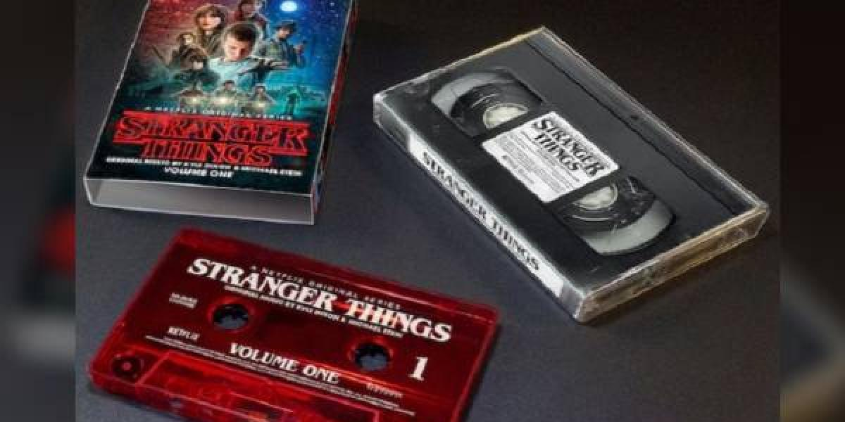 Soundtrack de Stranger Things llegará en cassetes