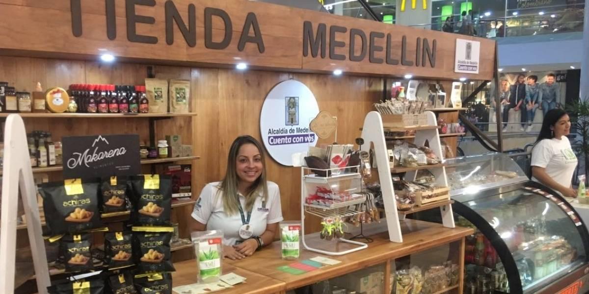 Tienda Medellín, un espacio lleno de productos paisas innovadores