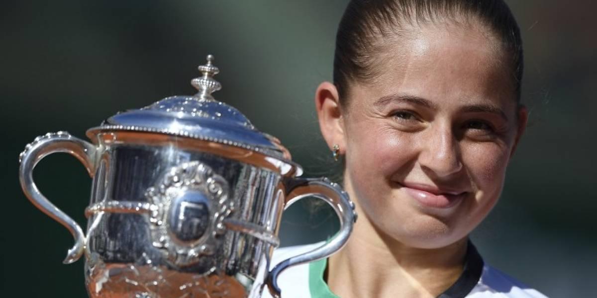 La joven letona Jelena Ostapenko dio el batacazo al coronarse campeona de Roland Garros