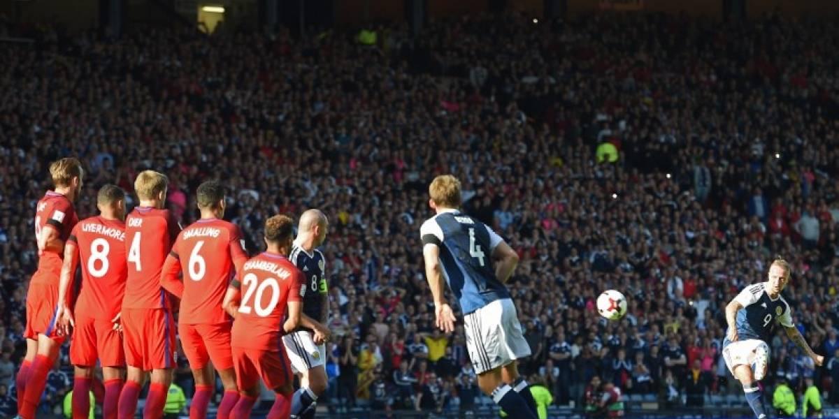 Escocia e Inglaterra animaron un final de infarto en empate por las clasificatorias al Mundial