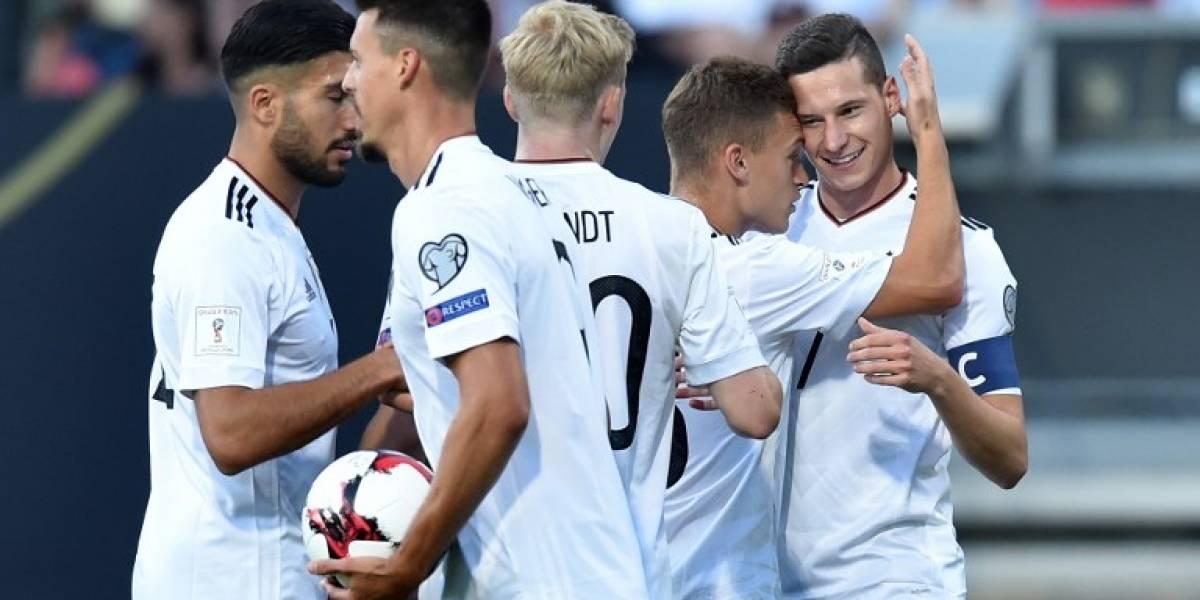Alemania se dio un festín con San Marino y llega prendido a la Copa Confederaciones