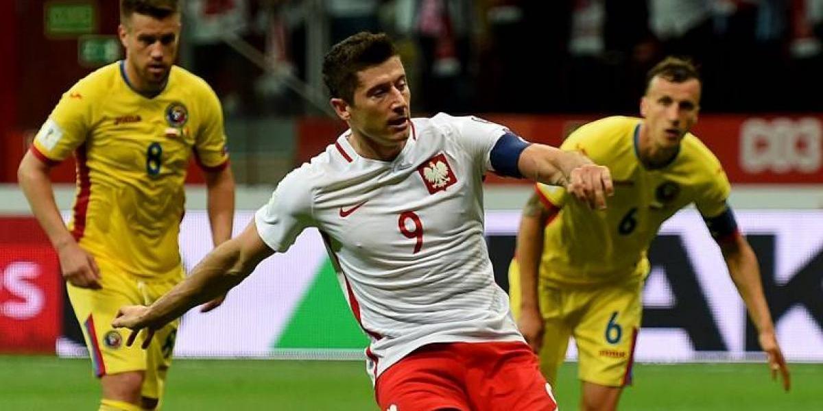 Rumania tuvo una dura caída ante Polonia por las clasificatorias europeas