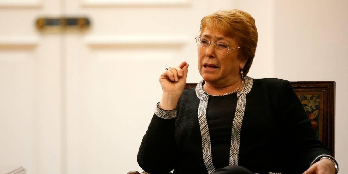 """Bachelet por crisis en Venezuela: """"Los presos políticos deben ser liberados"""""""
