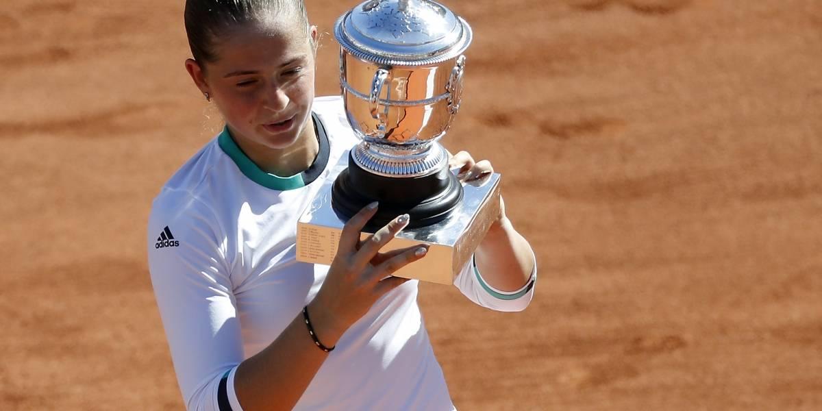 Jelena Ostapenko, reina de Roland Garros con tan solo 20 años
