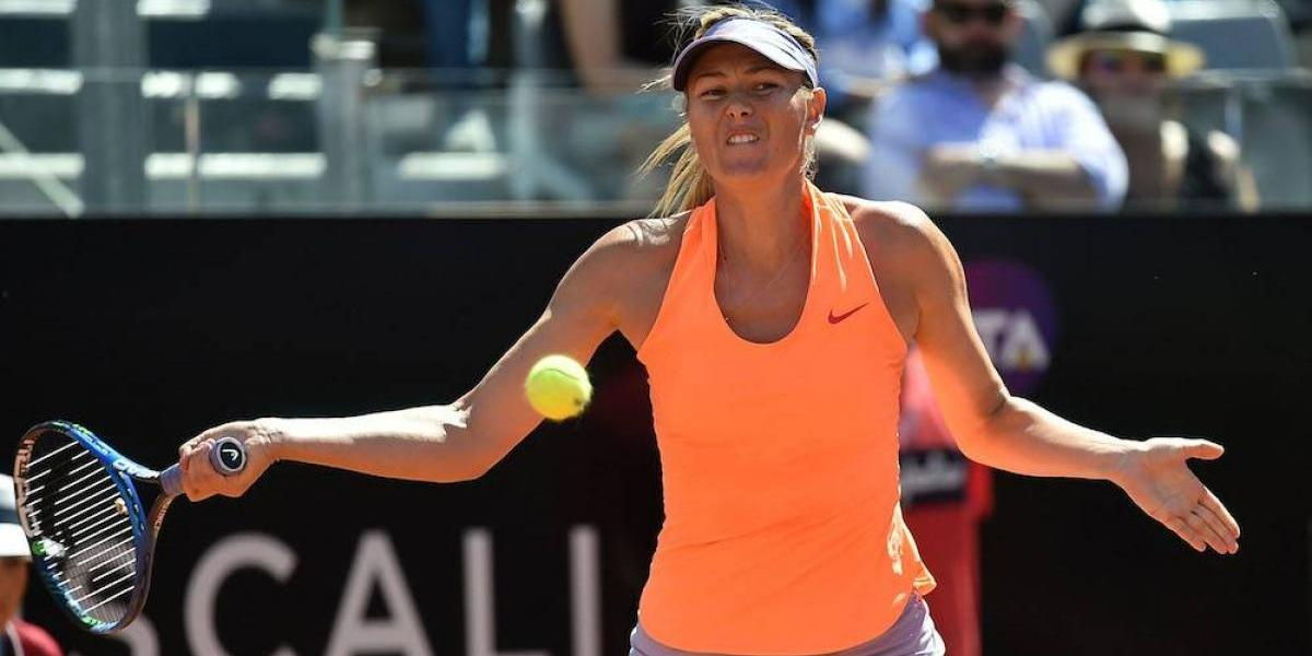 Maria Sharapova no competirá en Wimbledon por lesión