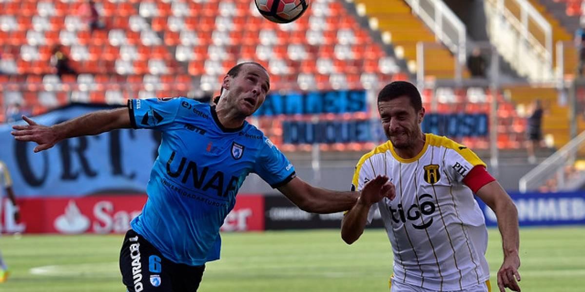 Mathías Riquero cambia el norte por el sur al fichar por Deportes Temuco