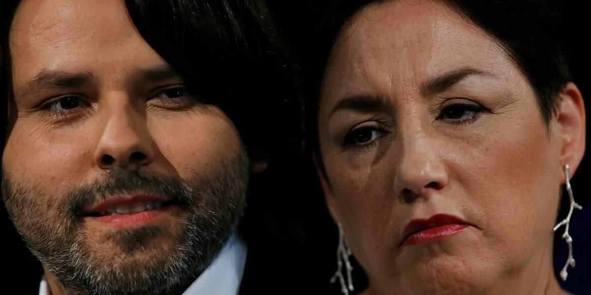 Beatriz Sánchez niega que el Frente Amplio le haya pedido a Mayol bajar su candidatura
