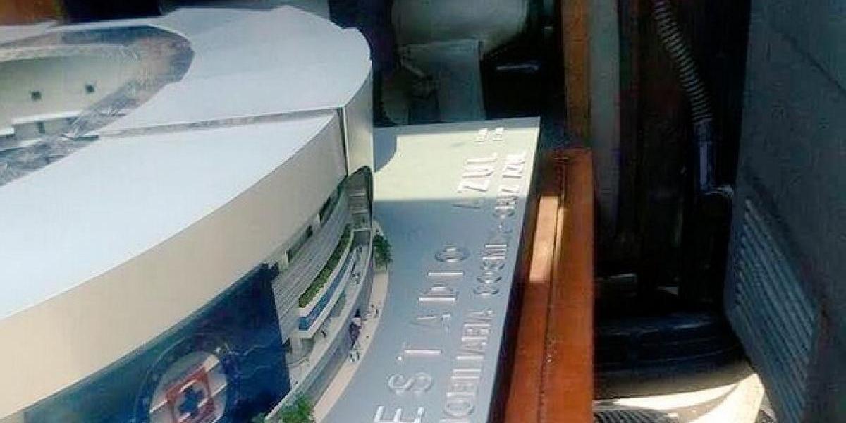 Así sería el nuevo estadio del Cruz Azul