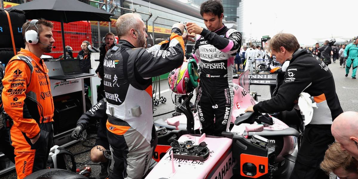 """""""Checo"""" saldrá desde la octava posición en el Gran Premio de Canadá"""