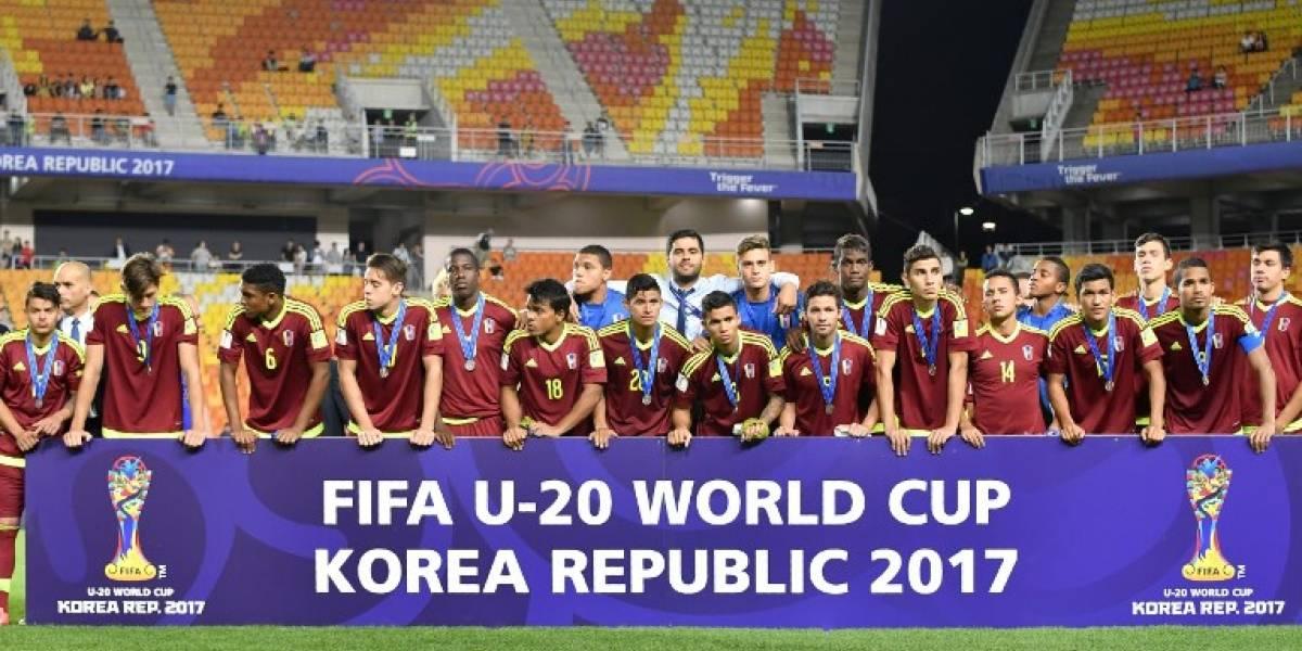 Venezuela no pudo con Inglaterra y cayó en la final del Mundial Sub 20