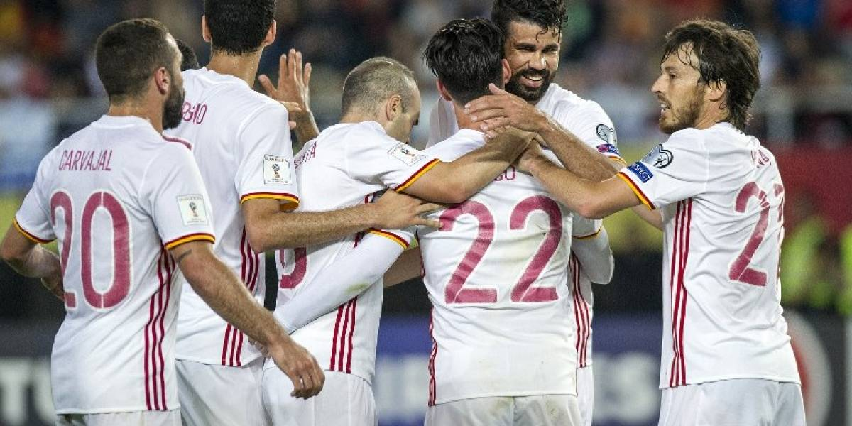Italia y España siguen palmo a palmo su lucha en las clasificatorias europeas