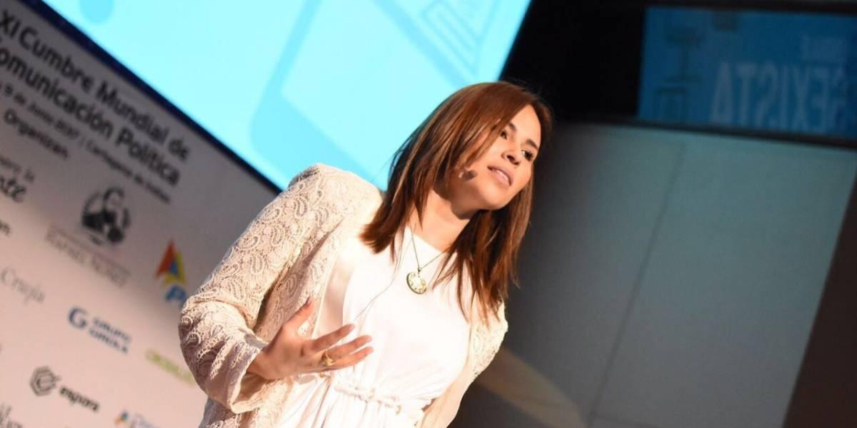María Alatriste aborda discriminación contra mujeres en Colombia