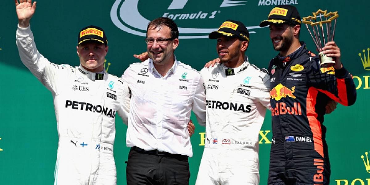 Lewis Hamilton reina en el GP de Canadá; Checo concluye quinto