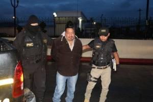 Seis hombres ha capturado la Policía Nacional Civil en las primeras horas de los allanamientos.