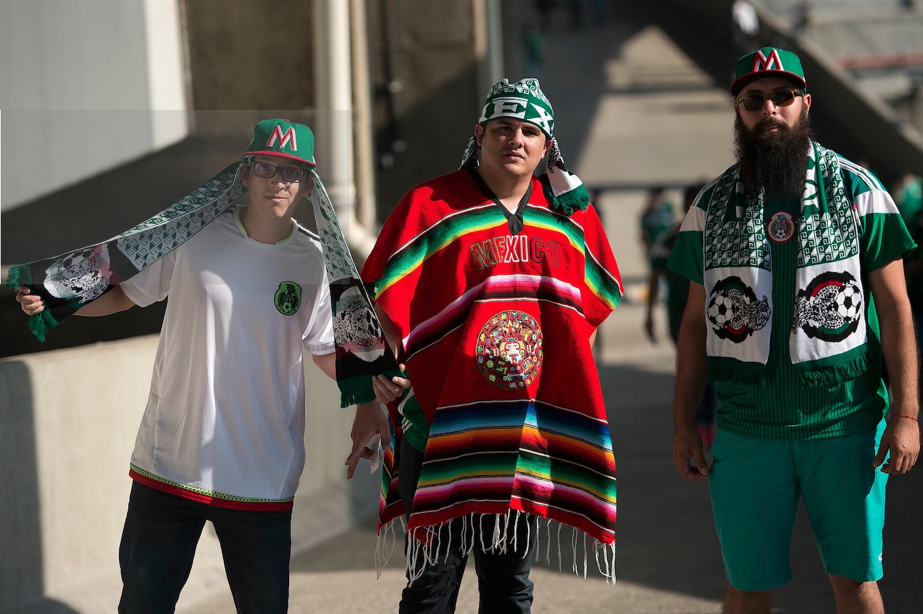 Las mejores fotos del México vs. EU
