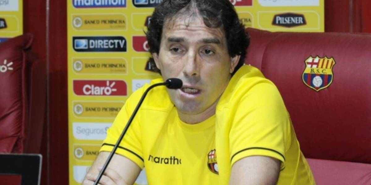 Almada habla del 'daño' que hizo Macará a Barcelona SC