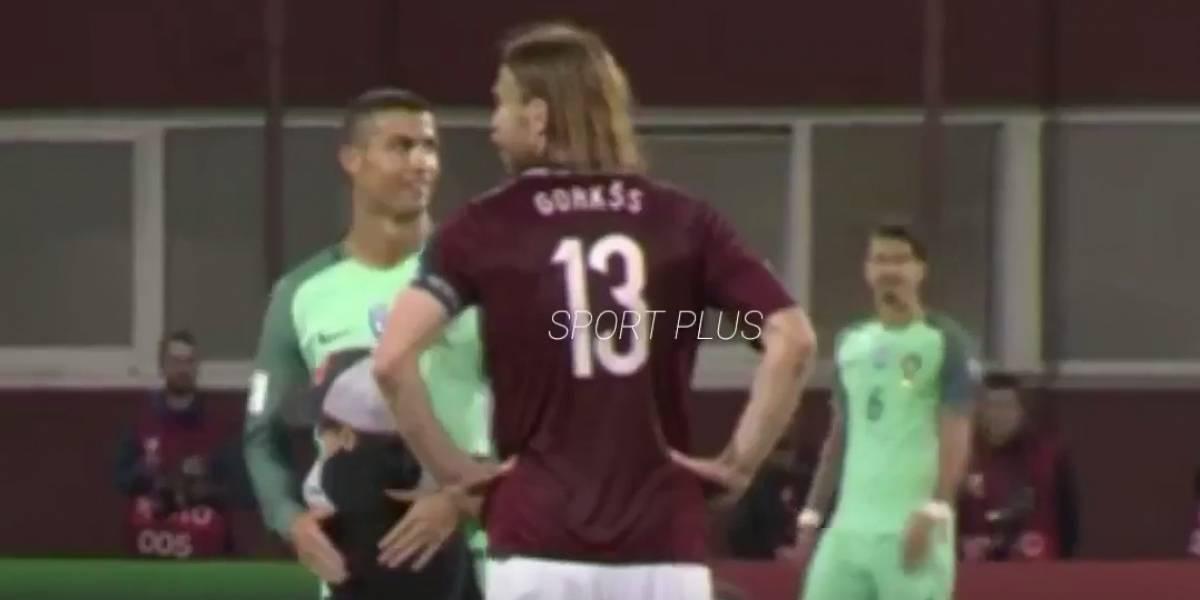 VIDEO: Niño invade el terreno de juego para saludar a Cristiano Ronaldo