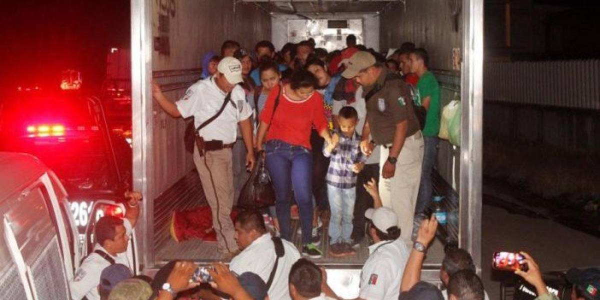 Rescatan a 112 extranjeros en Tabasco, entre ellos 23 menores