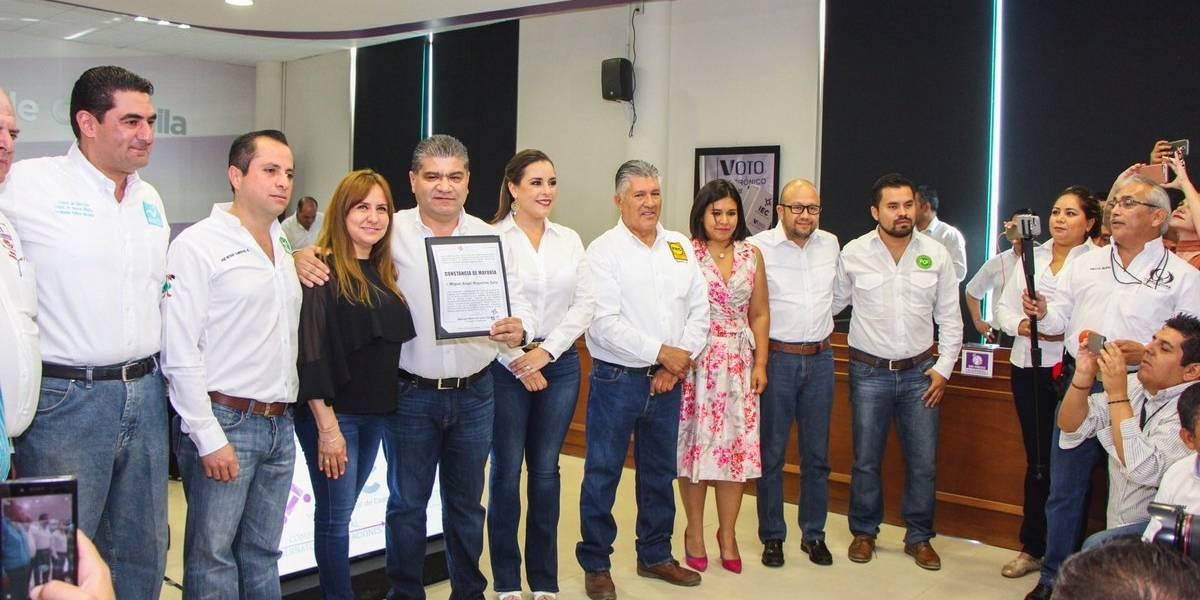 """Miguel Riquelme busca """"reconciliación política"""" para el progreso de Coahuila"""