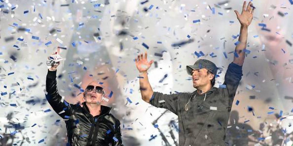 Enrique Iglesias y Pitbull se confirman como el más sólido dueto latino
