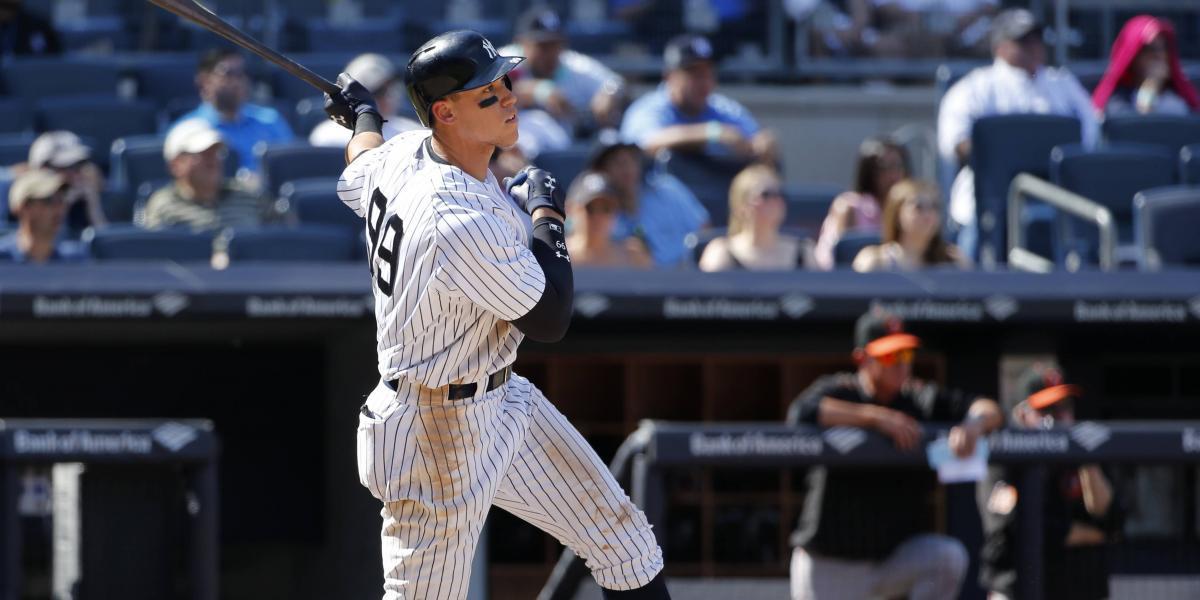 Judge conecta cuadrangular de 495 pies y los Yankees barren