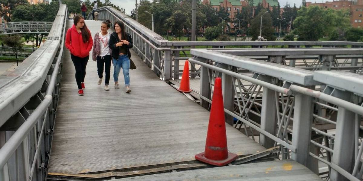 Estos 9 puentes serán intervenidos en Bogotá